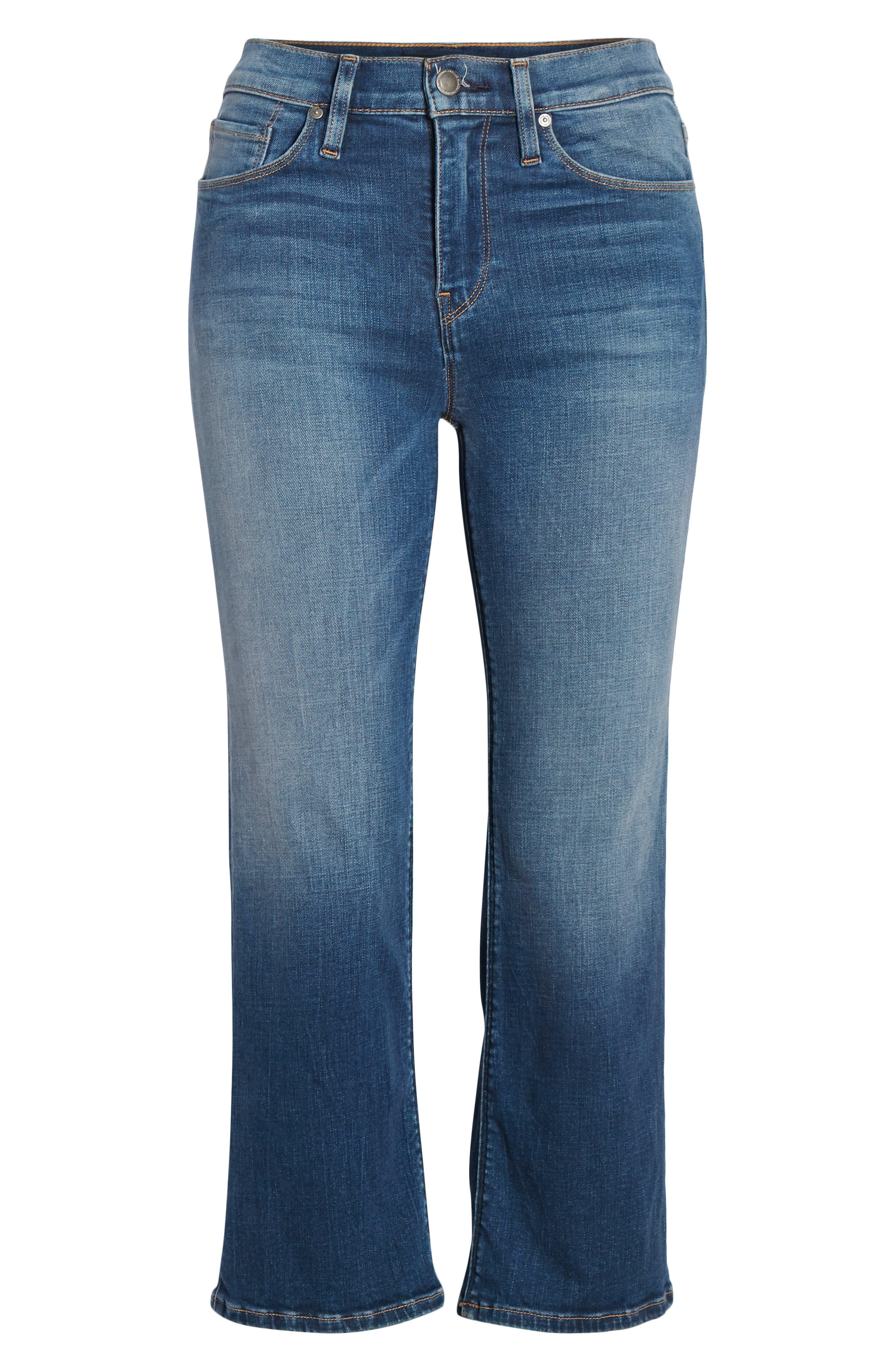 ,                             Stella Crop Straight Leg Jeans,                             Alternate thumbnail 13, color,                             420