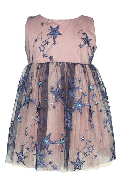 Image of Popatu Star Applique Tulle Dress