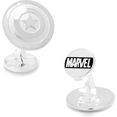 Cufflinks, Inc. Captain America Cuff Links