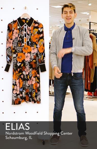 x Atlantic-Pacific Floral Print A-Line Dress, sales video thumbnail