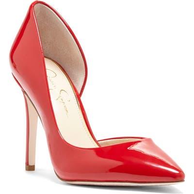 Jessica Simpson Pheona Pump- Red
