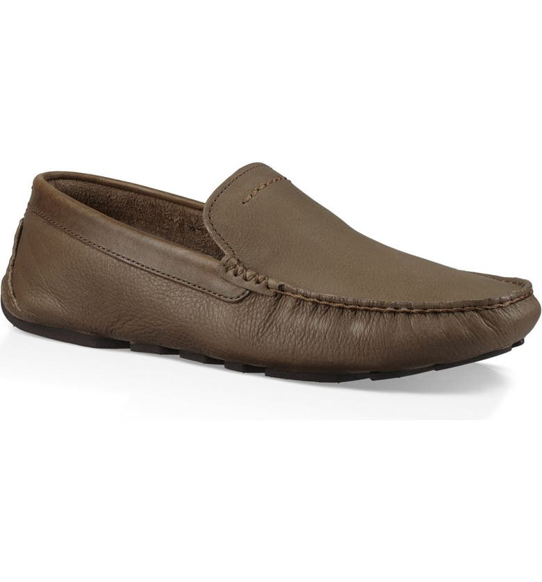 UGG<SUP>®</SUP> 'Henrick' Driving Shoe, Main, color, TAUPE