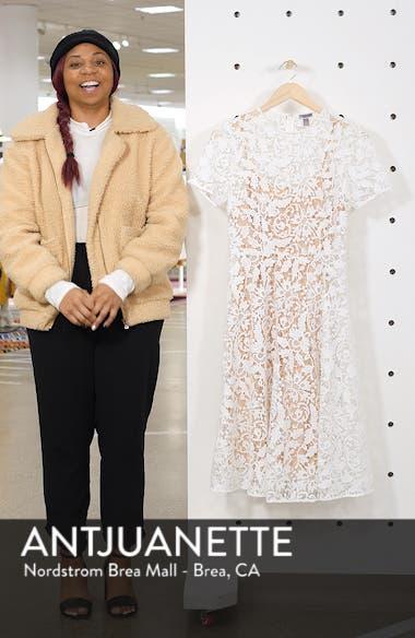 Floral Lace A-Line Dress, sales video thumbnail
