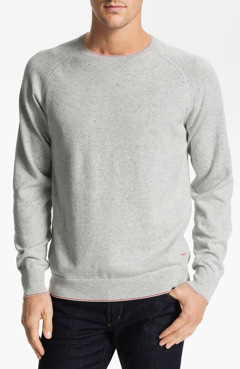 AGAVE 'Abeam' Crewneck Sweater, Main, color, FOG