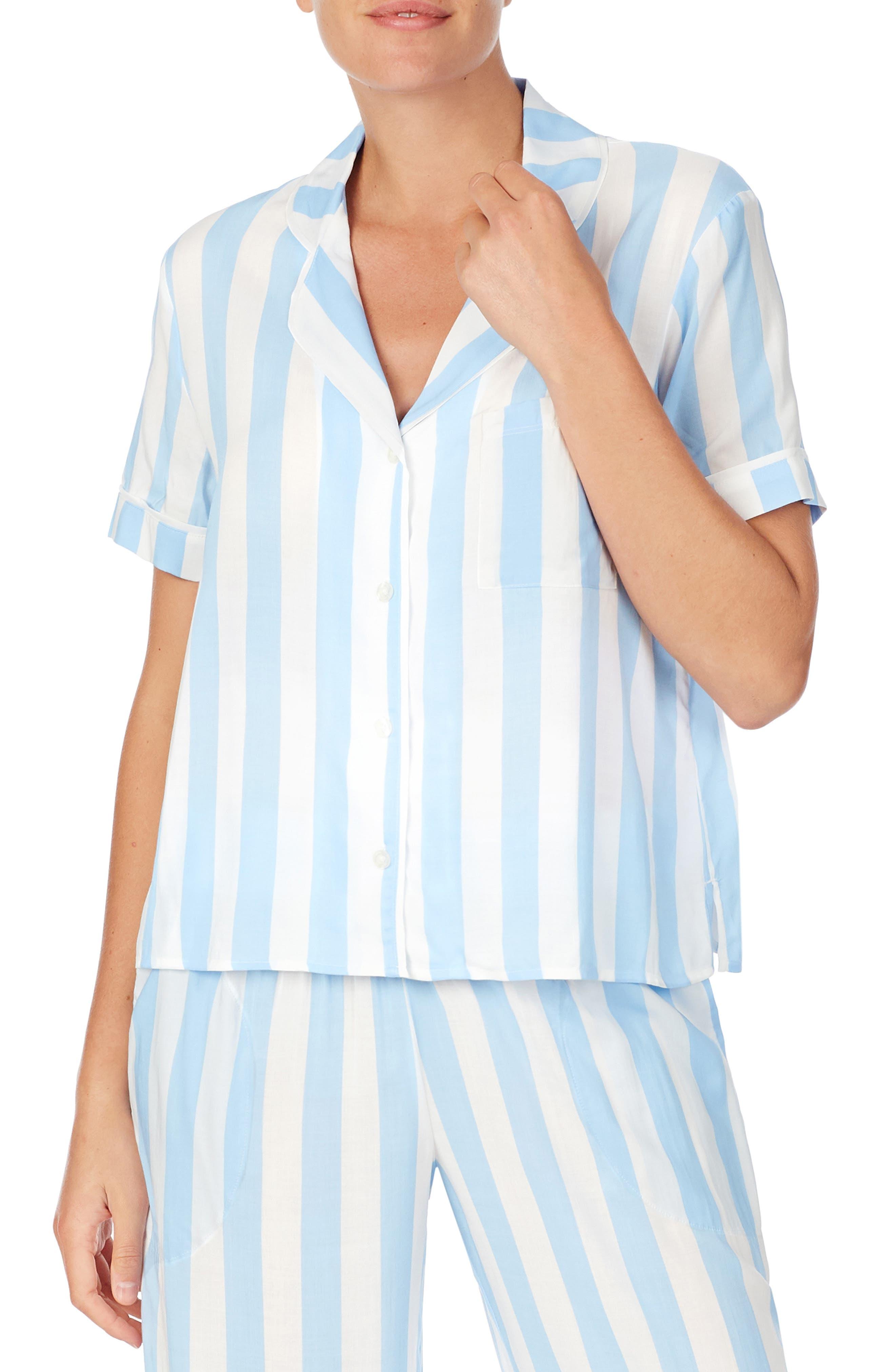 Shady Lady Short Sleeve Pajama Shirt   Nordstrom