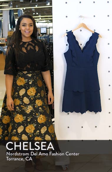 Jaden Tiered Scallop Dress, sales video thumbnail