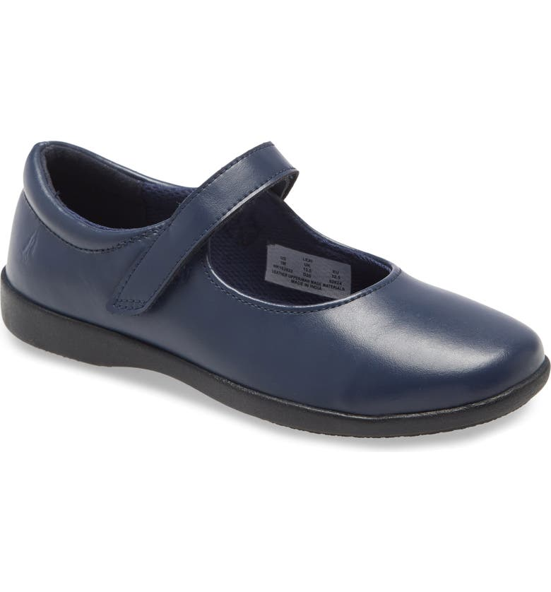 HUSH PUPPIES<SUP>®</SUP> Lexi Mary Jane Flat, Main, color, NAVY