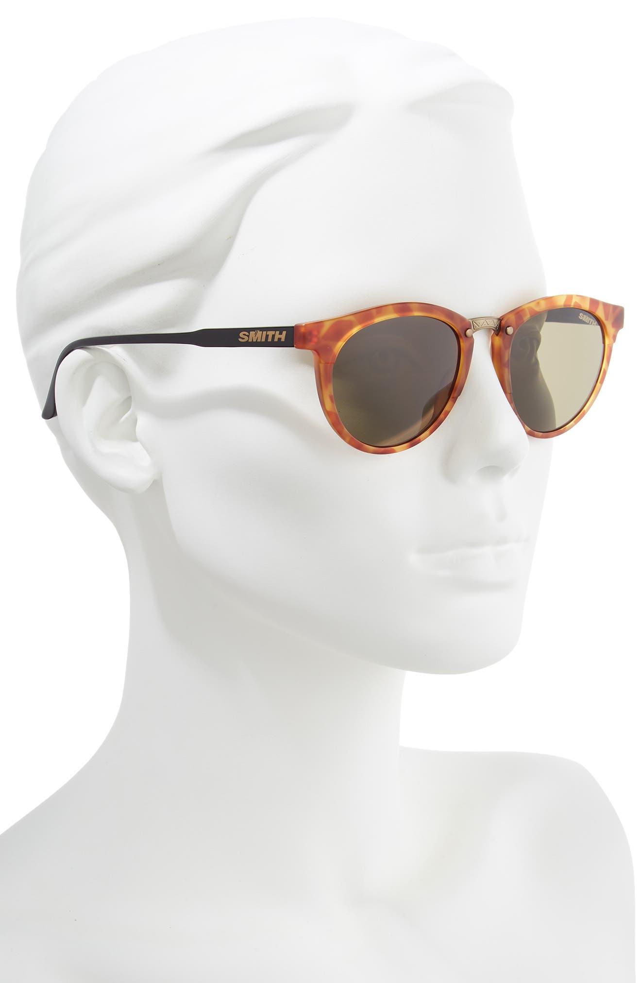 ,                             Questa 49mm ChromaPop Polarized Sunglasses,                             Alternate thumbnail 2, color,                             HONEY TORTOISE/ GREY GREEN