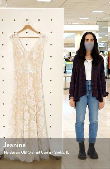 Lace A-line Gown, sales video thumbnail