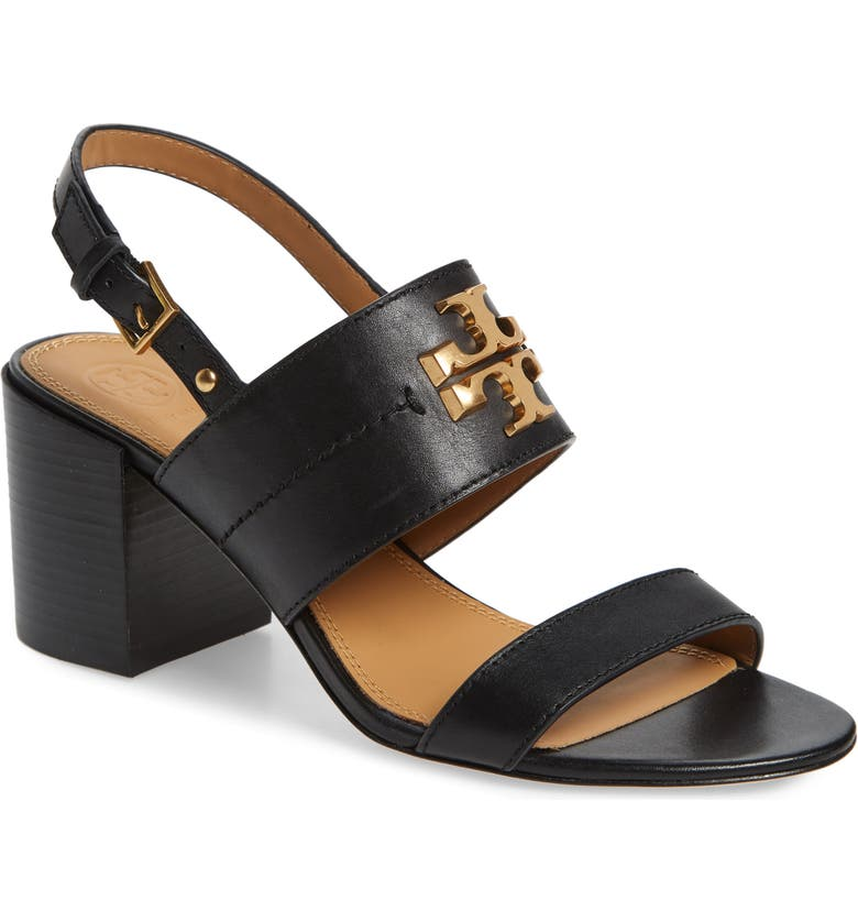 TORY BURCH Everly Sandal, Main, color, PERFECT BLACK