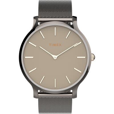 Timex Transcend Mesh Strap Watch,
