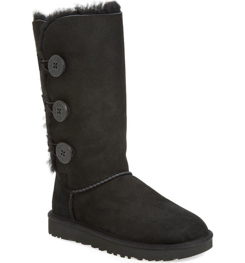 where to buy wide varieties sleek Bailey Button Triplet II Genuine Shearling Boot