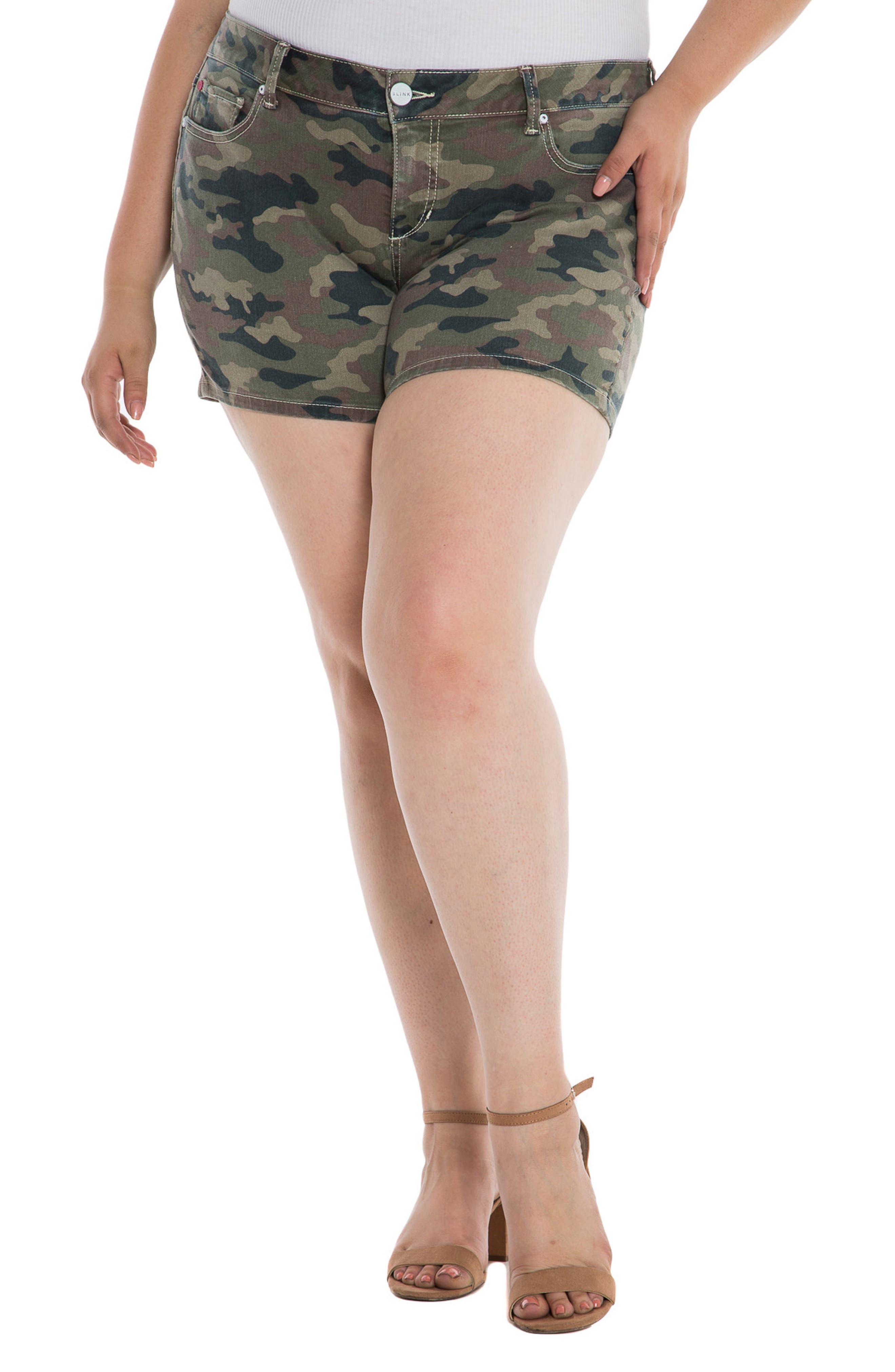 Plus Women's Slink Jeans Denim Shorts