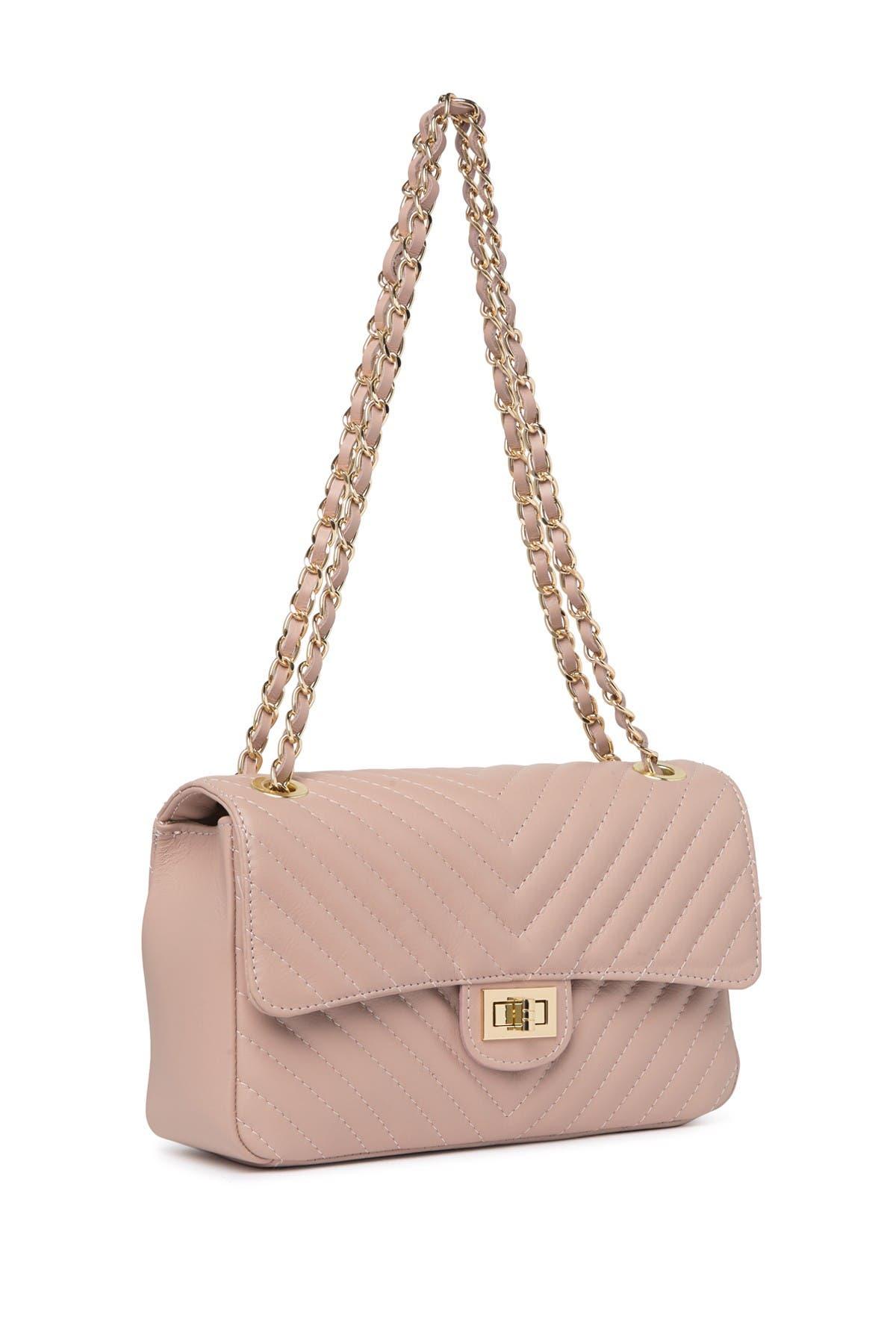 Image of Renata Corsi Quilted Leather Shoulder Bag
