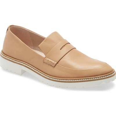 Ecco Incise Penny Loafer, Beige