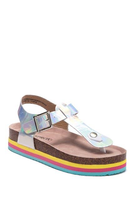 Image of SPROX Rainbow Platform Sandal