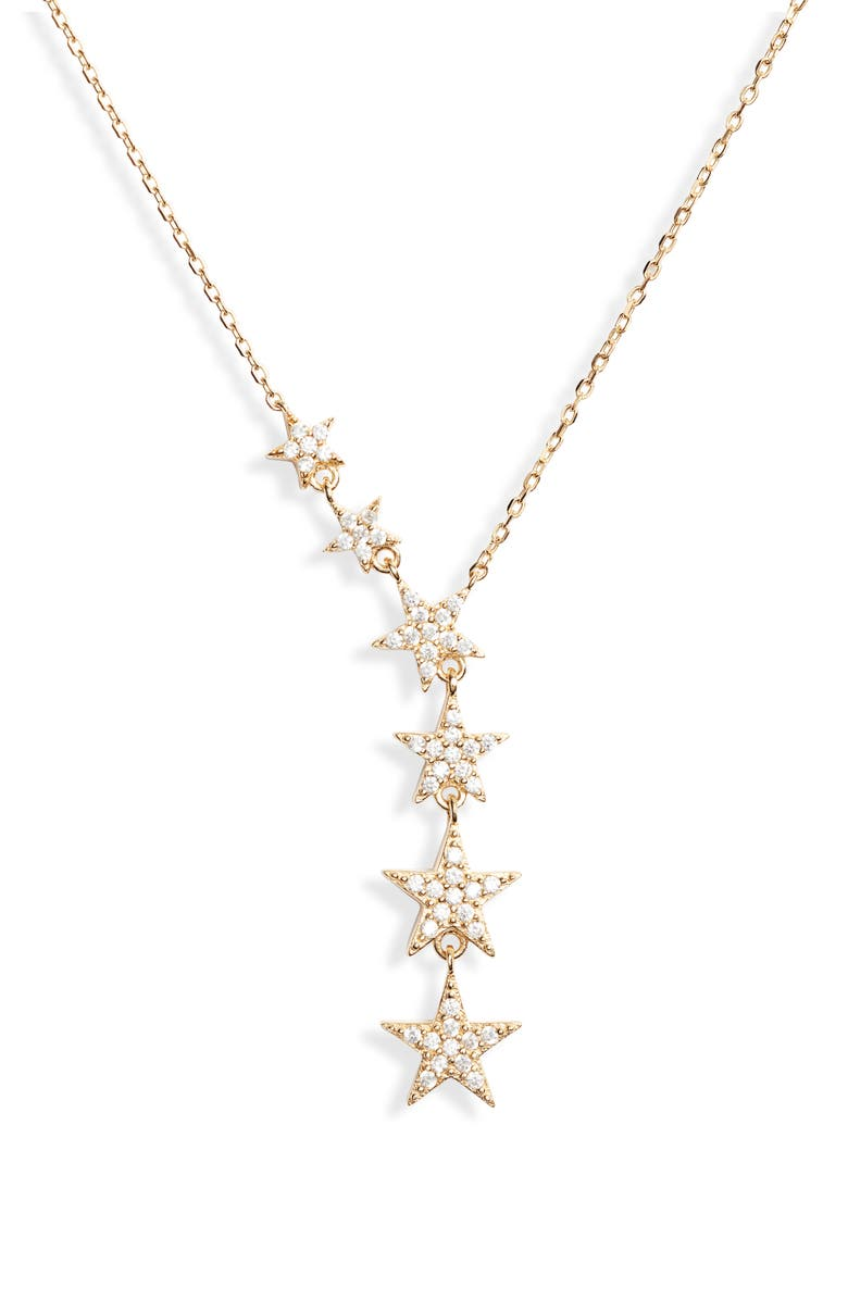 Sterling Forever Star Y Necklace