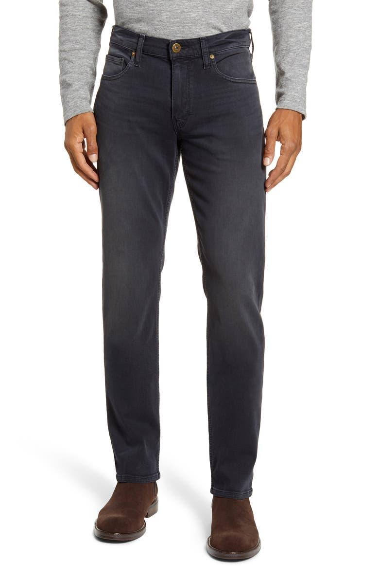 PAIGE Transcend - Lennox Slim Fit Jeans, Main, color, RUDD