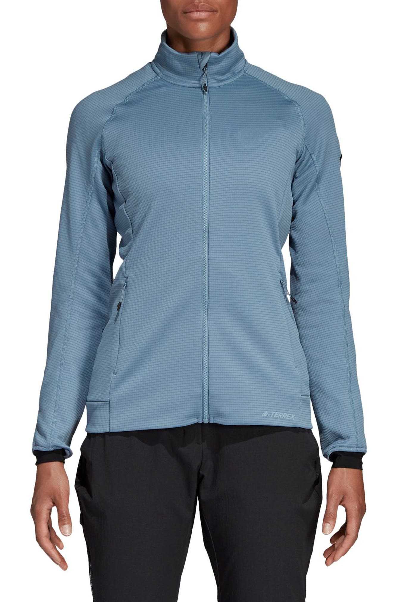 Adidas Stockhorn Fleece Jacket, Blue