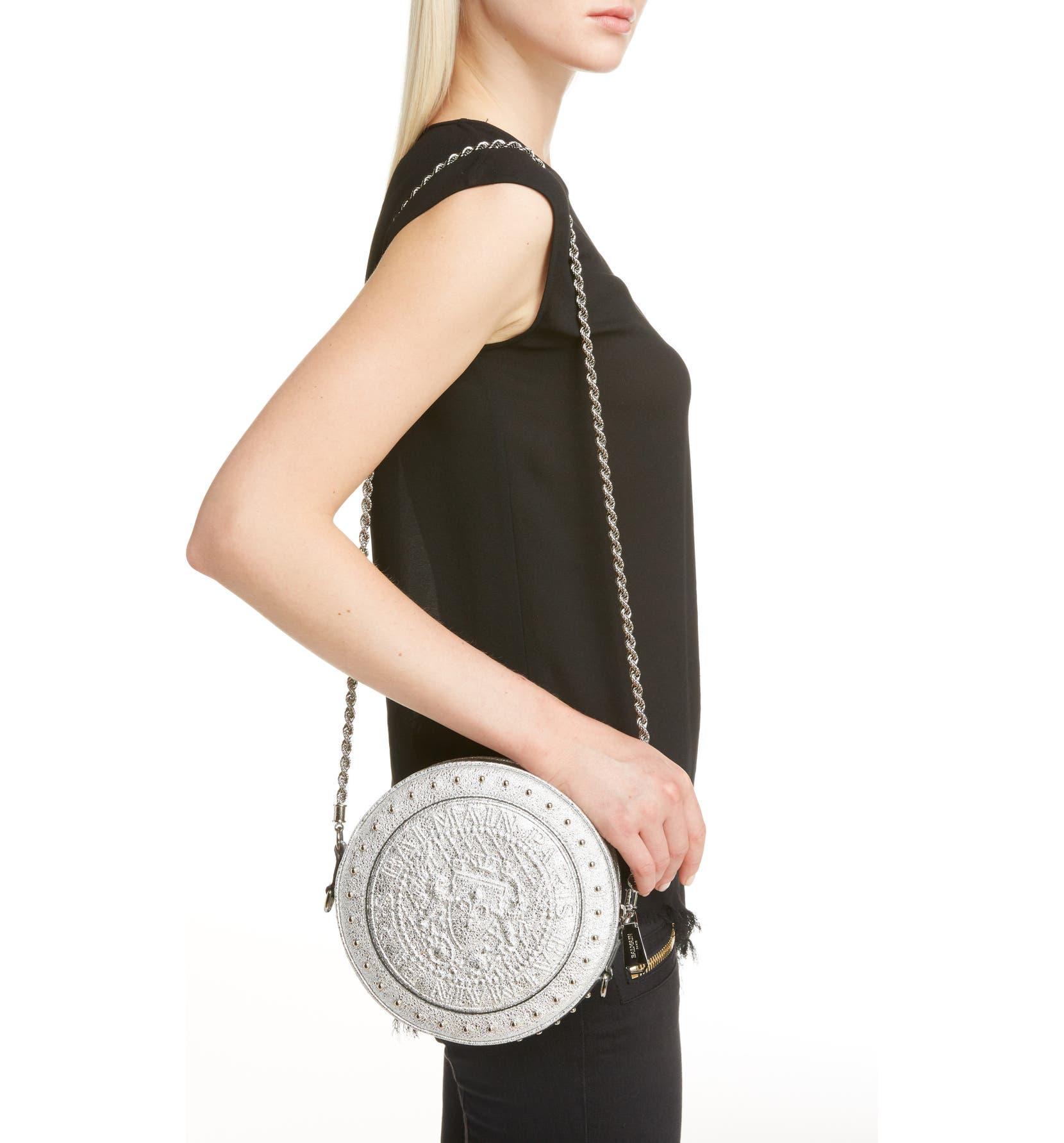 726cac9f1e Balmain Renaissance Leather Crossbody Bag   Nordstrom