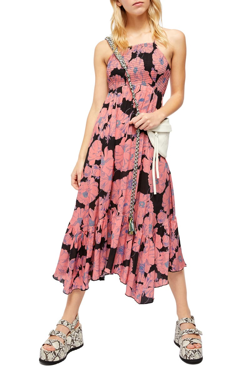 Free People Heatwave Floral Print Maxi Dress Nordstrom