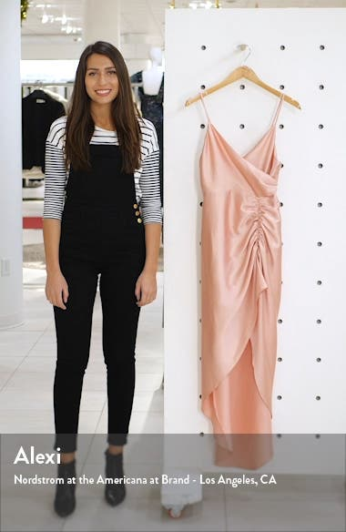 Bridgette Ruched Slit Gown, sales video thumbnail