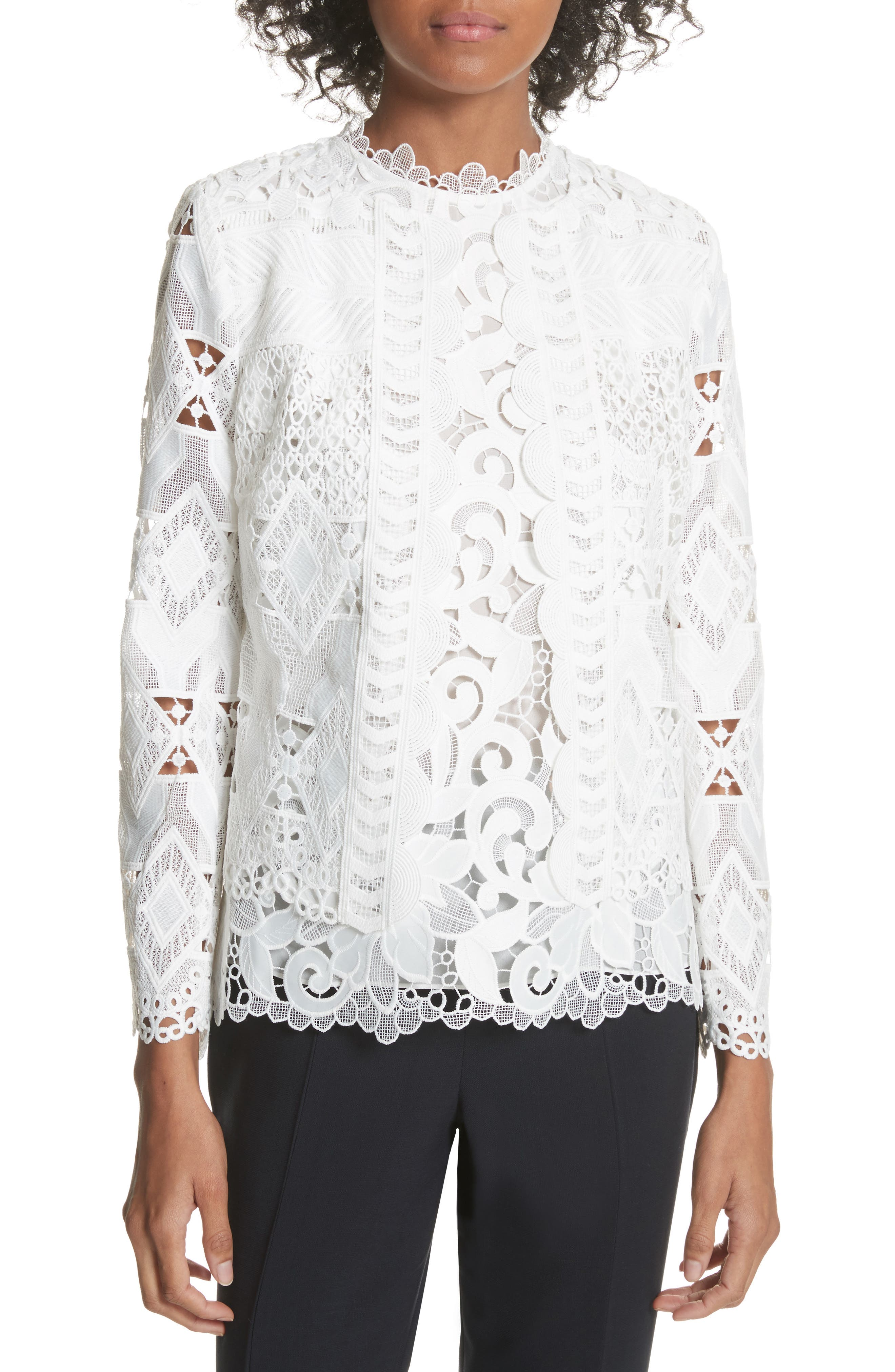 Image of Ted Baker London Crop Lace Jacket