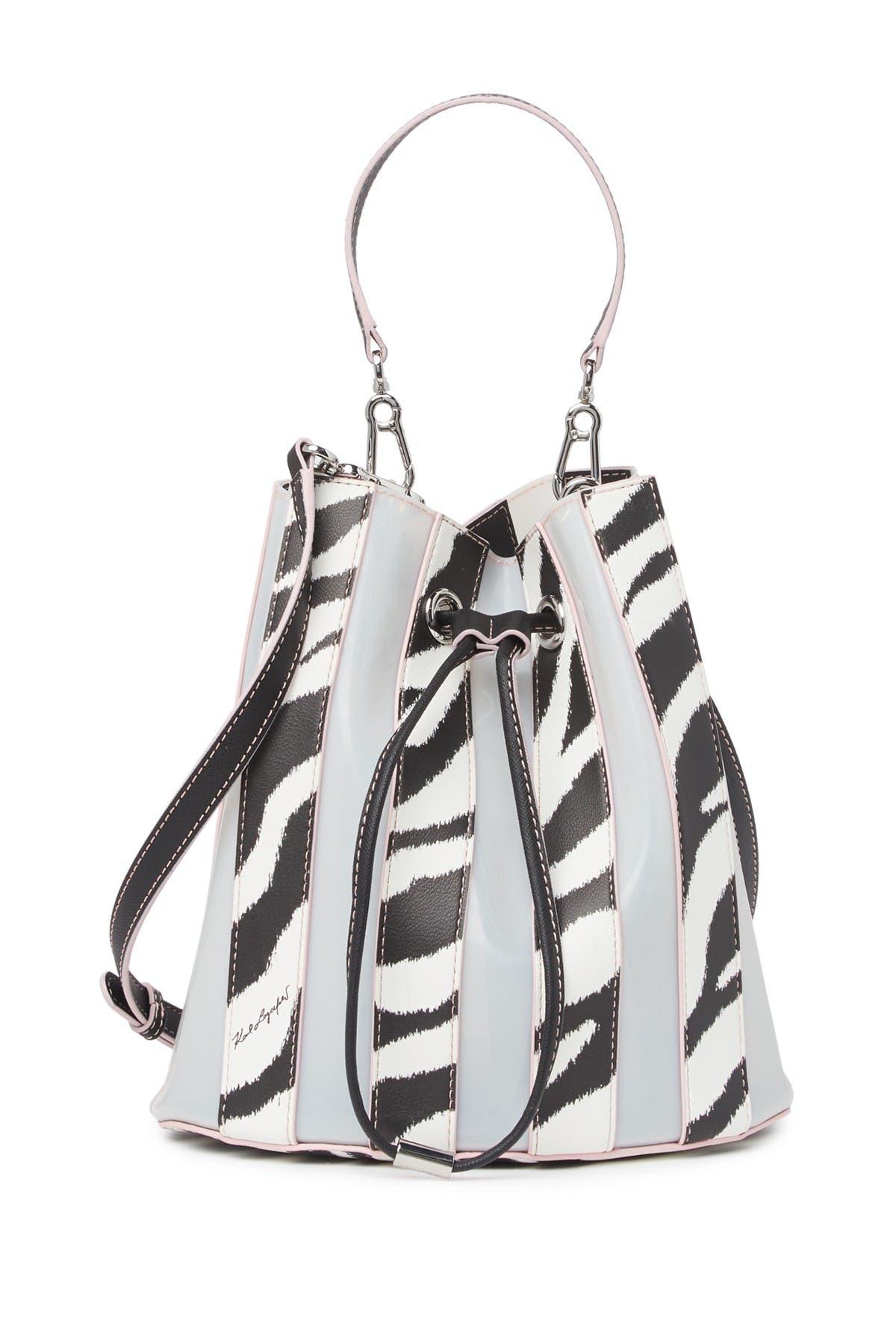 Image of Karl Lagerfeld Paris Adele Bucket Bag