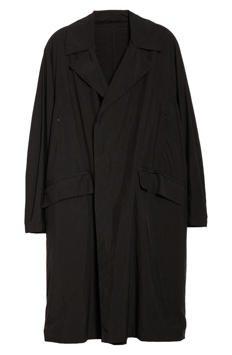 BEAMS TEÄTORA Packable Device Coat, Main, color, BLACK