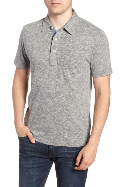 Image of FAHERTY BRAND Heather Polo