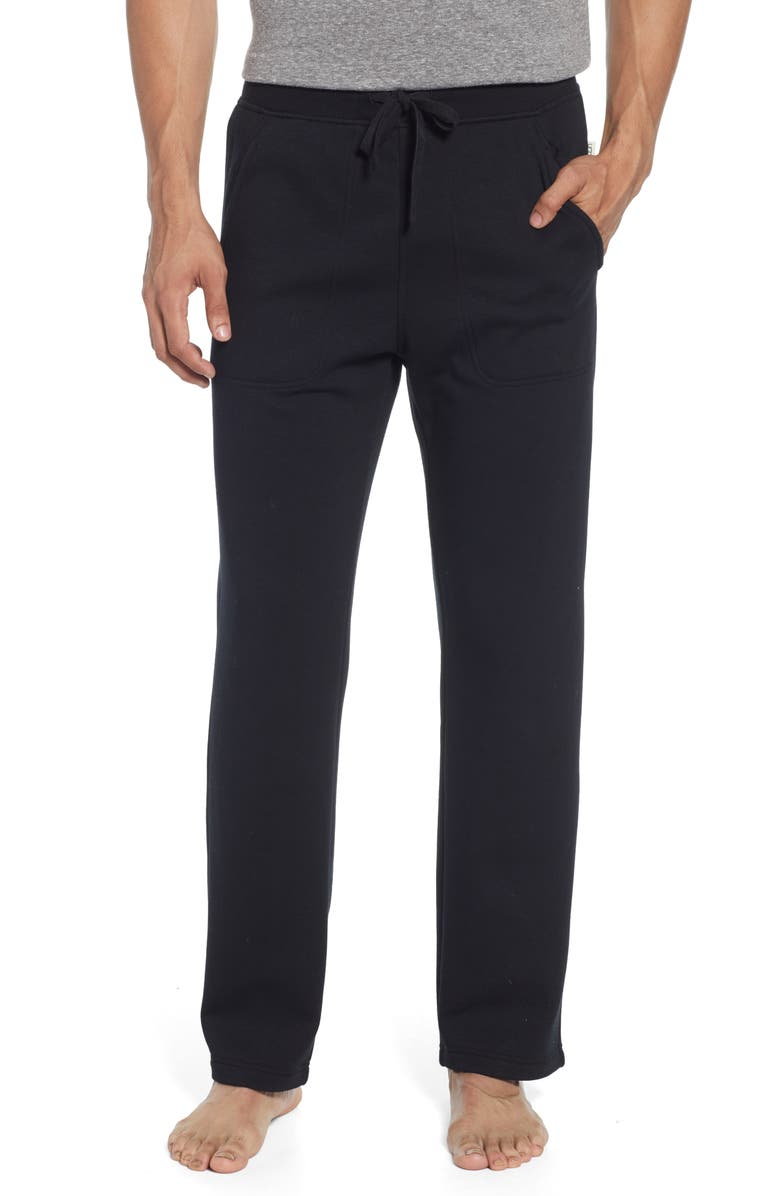UGG<SUP>®</SUP> Gifford Pajama Pants, Main, color, BLACK