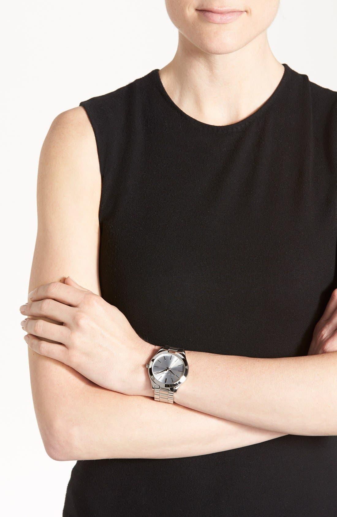 ,                             'Slim Runway' Bracelet Watch, 42mm,                             Alternate thumbnail 18, color,                             040