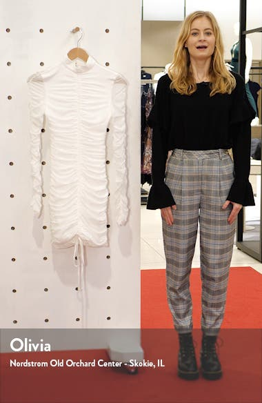 Cologne Long Sleeve Body-Con Dress, sales video thumbnail