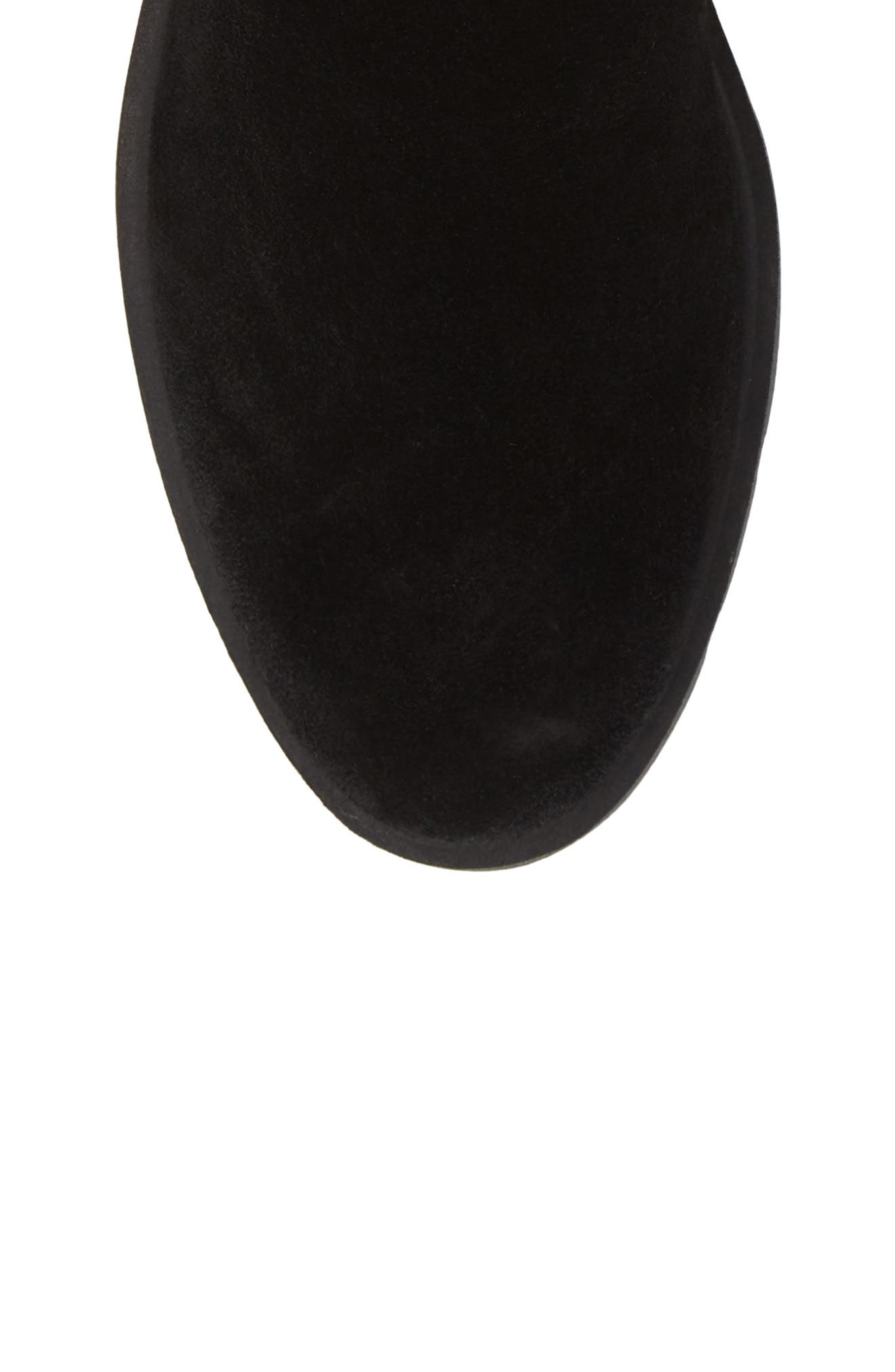 ,                             Movin Up Bootie,                             Alternate thumbnail 5, color,                             BLACK WATERPROOF SUEDE