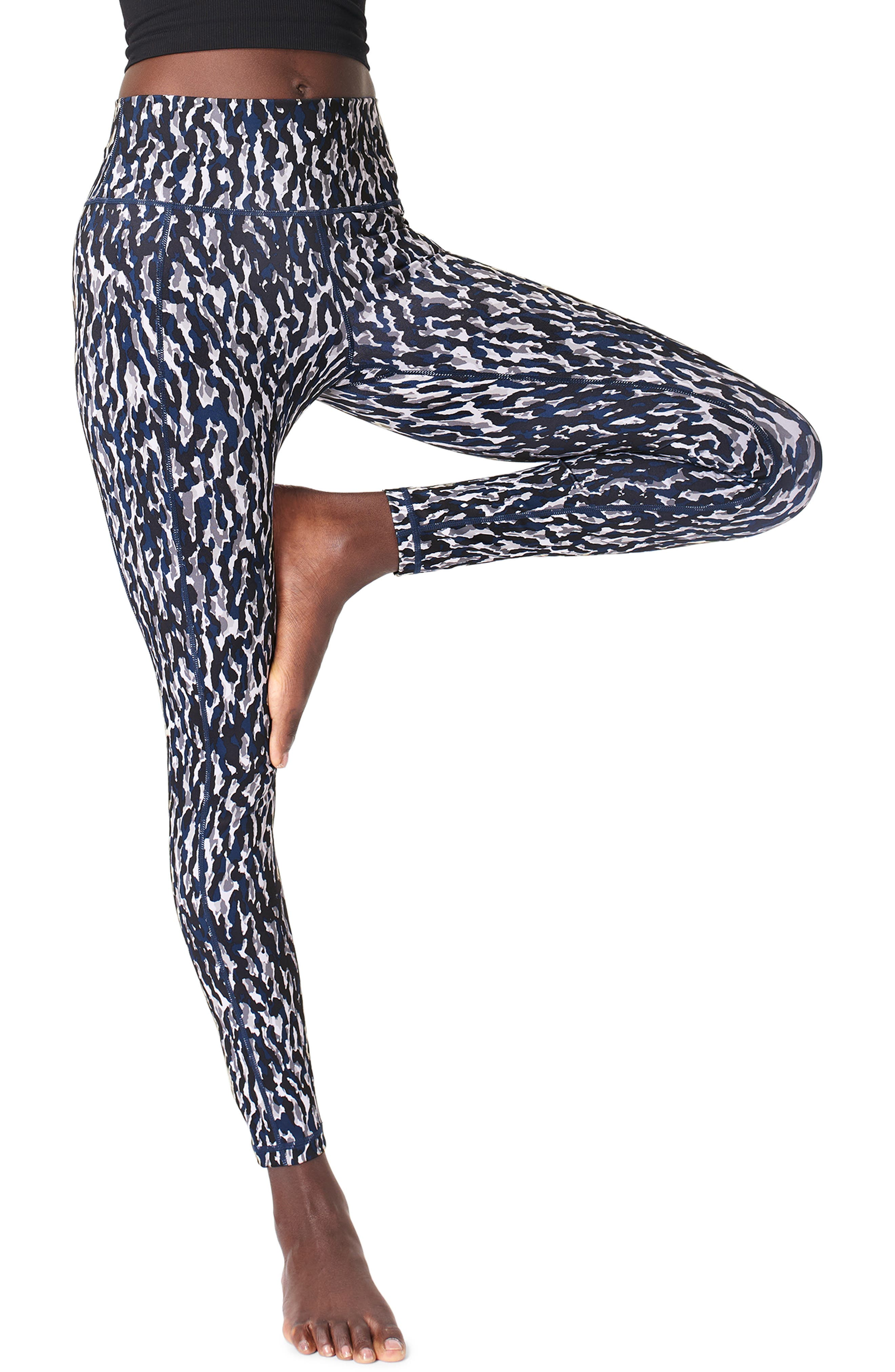 Designed with a comfortable high rise that supports your waist, these action-ready leggings are perfect for your next gym session or cycle class. Style Name: Sweaty Betty Super Sculpt 7/8 Leggings. Style Number: 5985457. Available in stores.