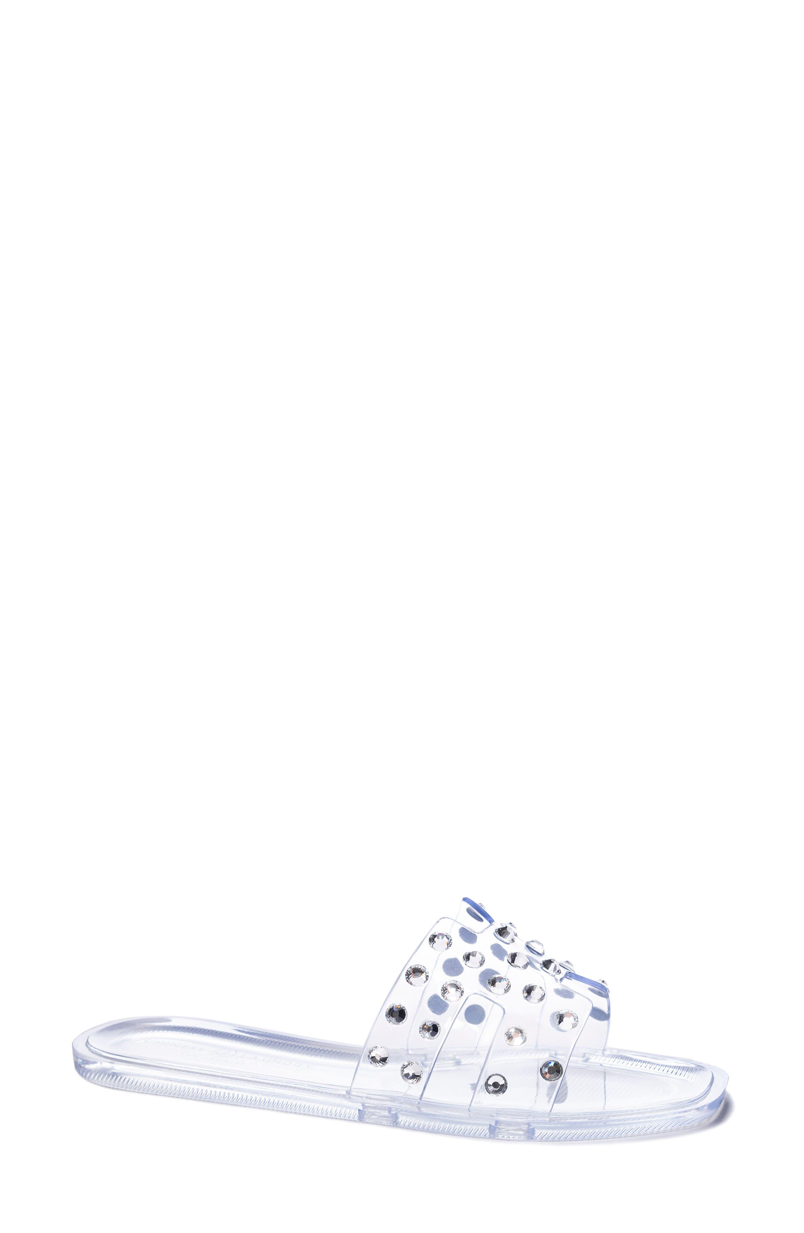Transparent Slide Sandal