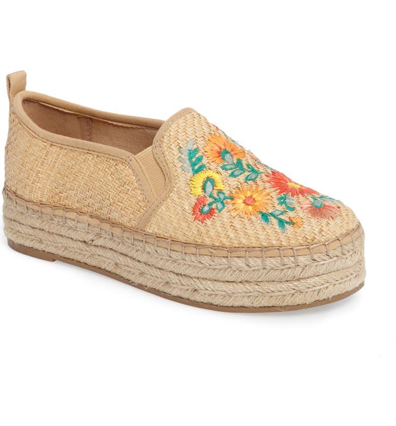 SAM EDELMAN Carrin Embroidered Sneaker, Main, color, 250