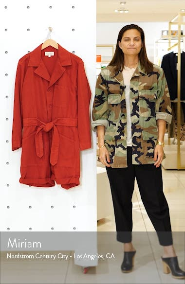 Ariana Cotton & Linen Romper, sales video thumbnail