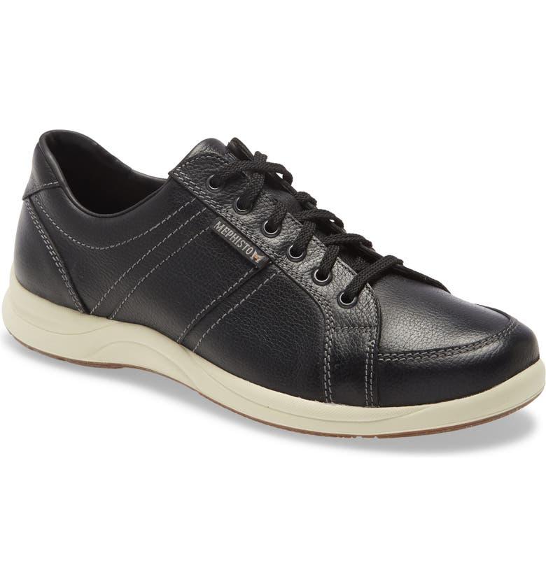 MEPHISTO 'Hero' Sneaker, Main, color, BLACK
