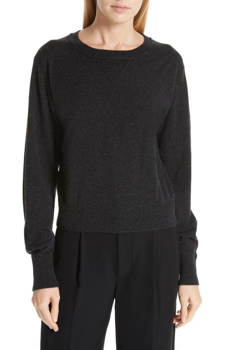 VINCE Wool & Cashmere Sweater, Main, color, 060
