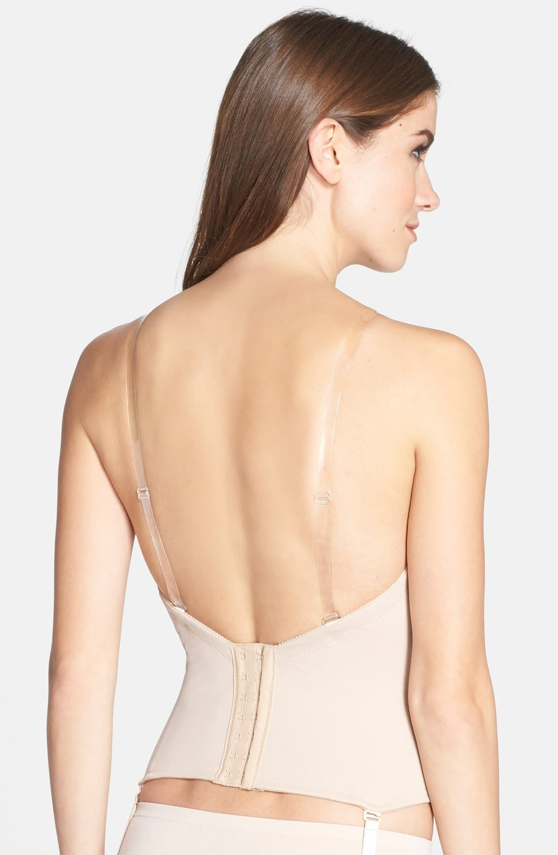 ,                             Ultra-Lift Low Back Bustier,                             Alternate thumbnail 7, color,                             261