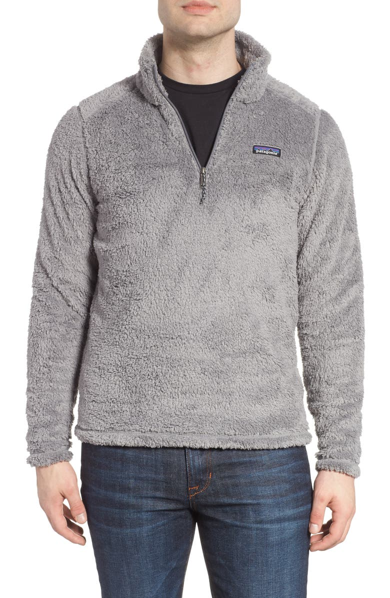 PATAGONIA Los Gatos Quarter Zip Pullover, Main, color, 020