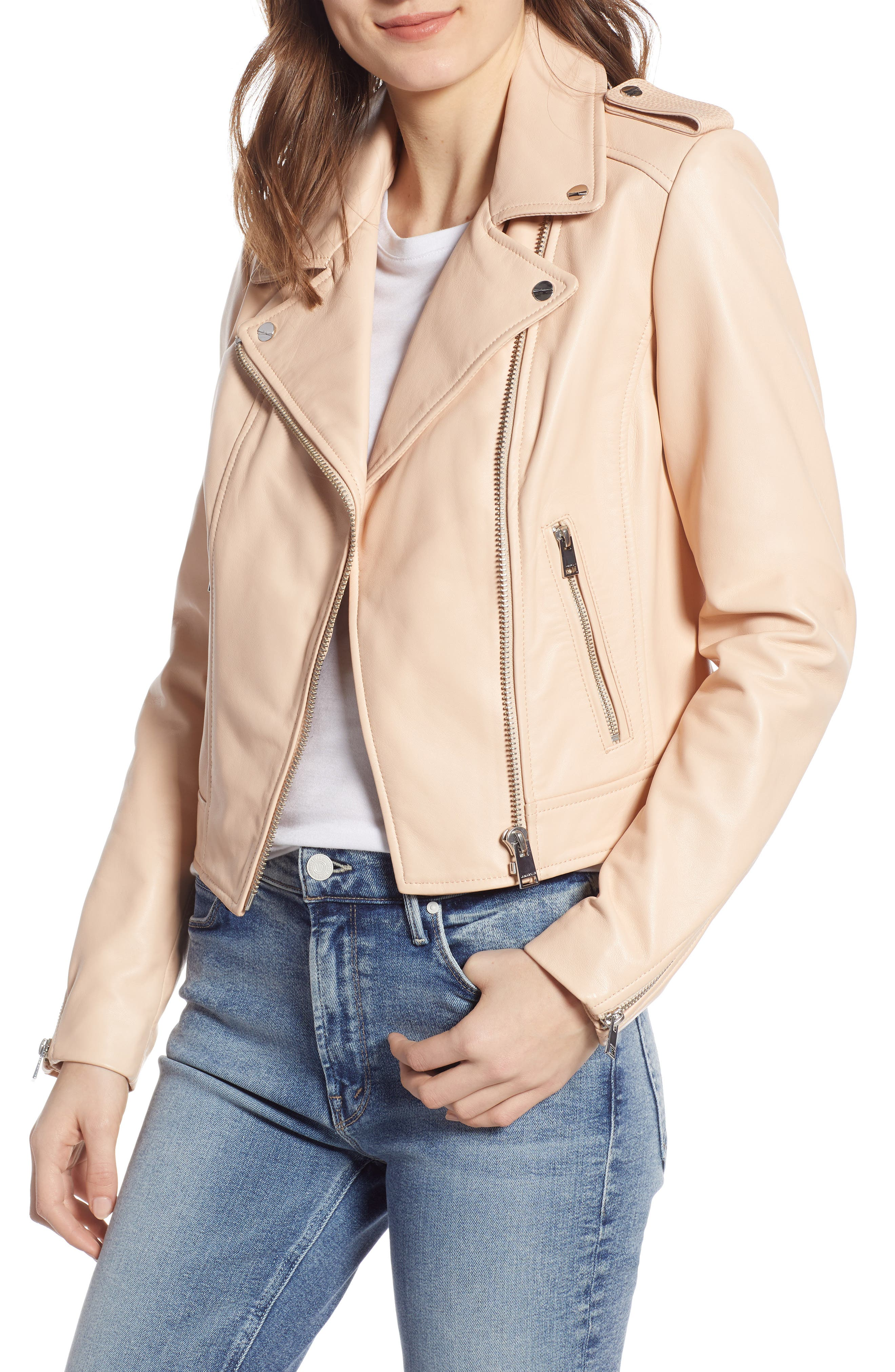 3e45990d8 Buy leather & suede coats for women - Best women's leather & suede ...