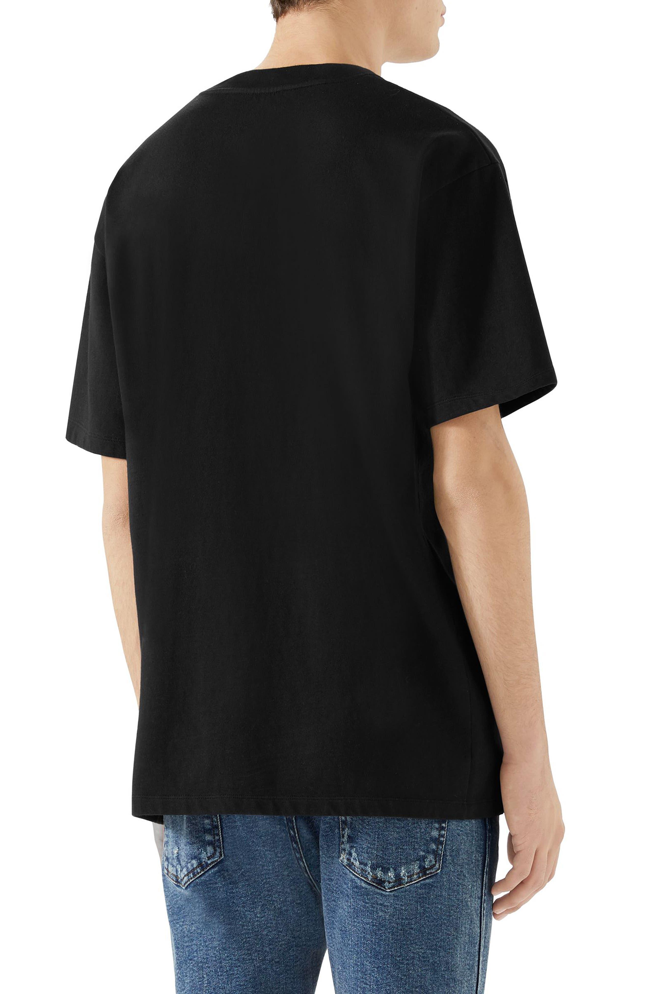 ,                             Blade Logo T-Shirt,                             Alternate thumbnail 2, color,                             MEDLEY WHITE RED