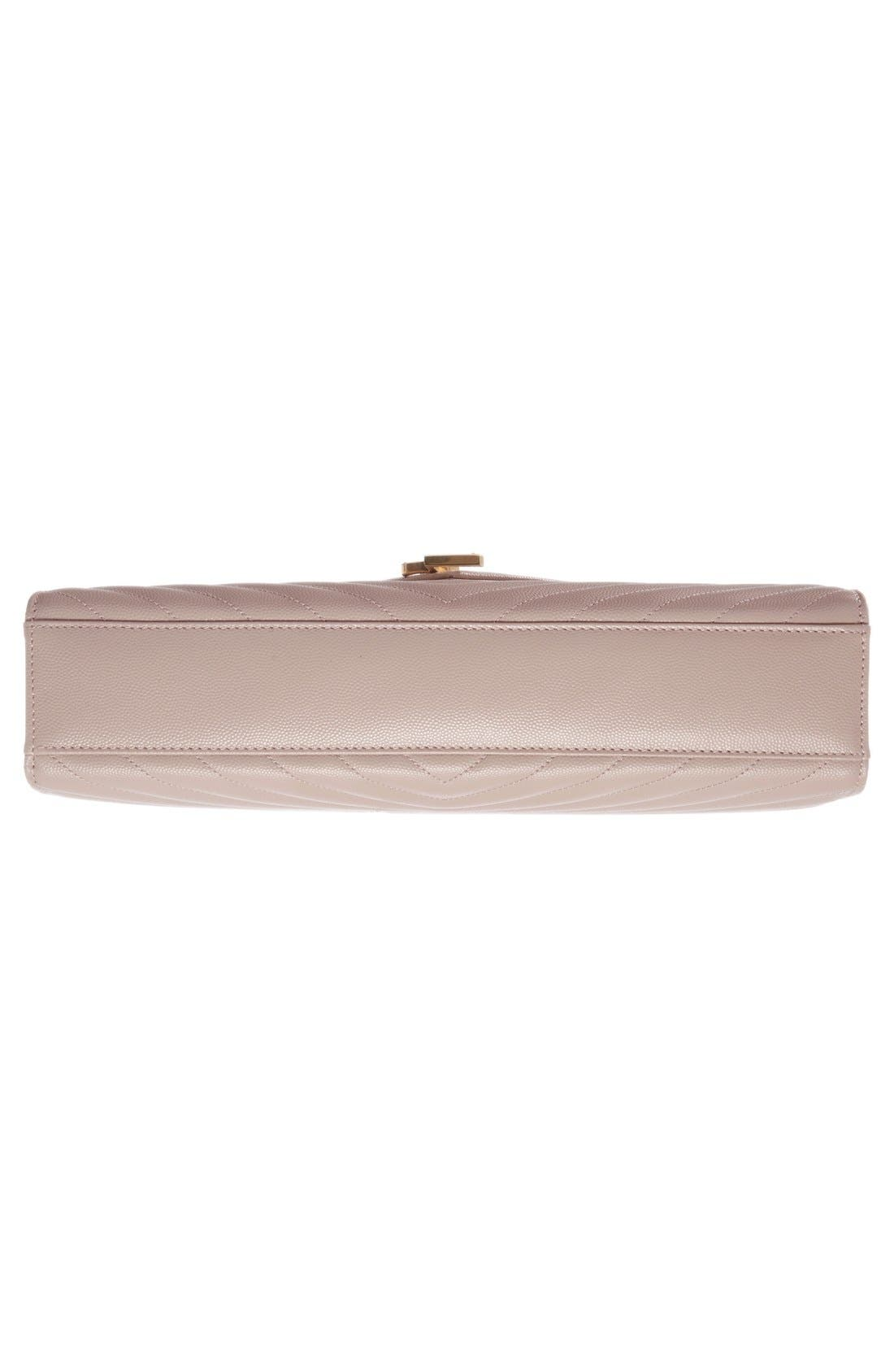 ,                             'Large Monogram' Grained Leather Shoulder Bag,                             Alternate thumbnail 49, color,                             657