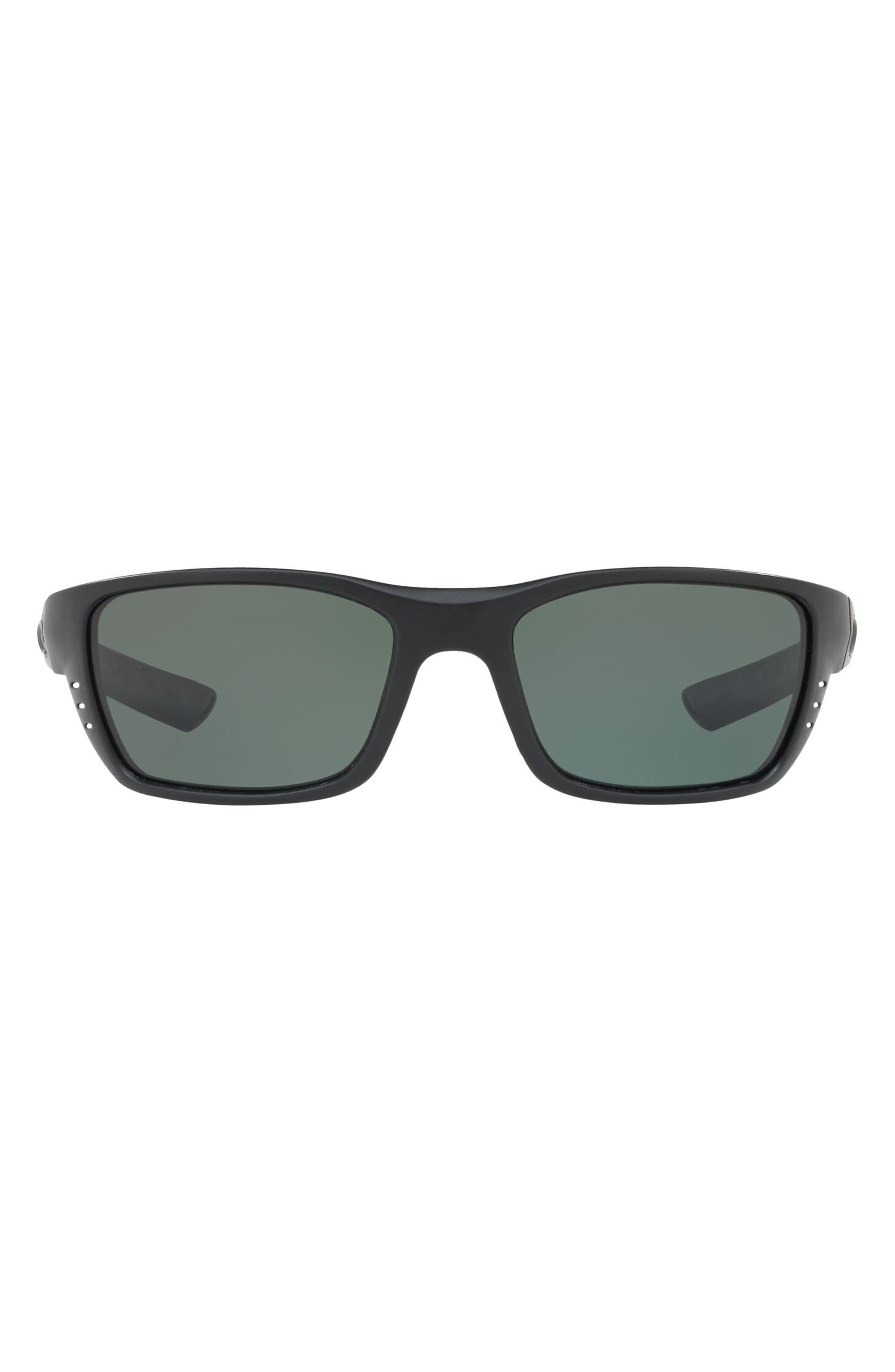 58mm Polarized Wraparound Sunglasses