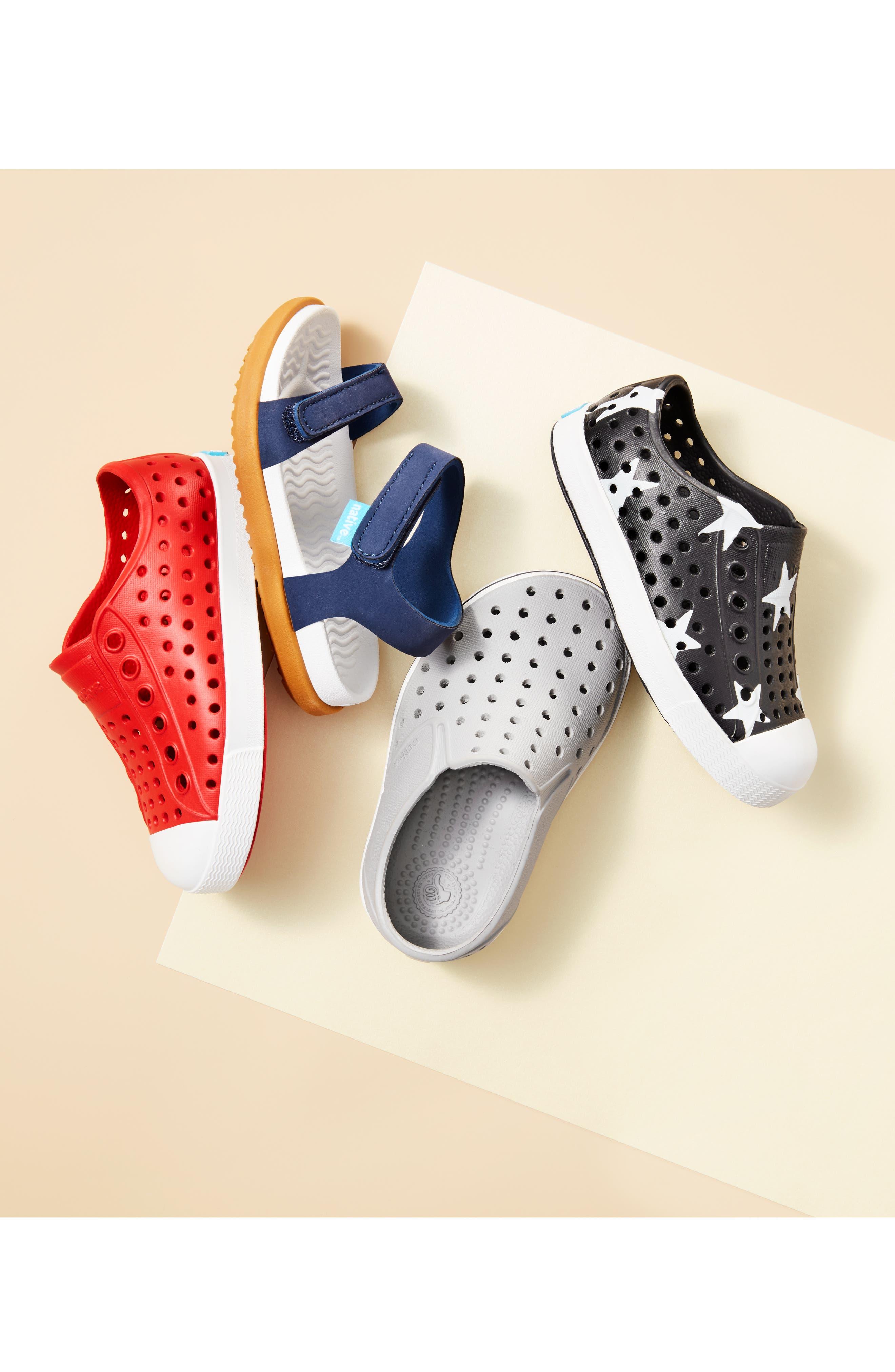 ,                             Miles Water Friendly Slip-On Vegan Sneaker,                             Alternate thumbnail 7, color,                             PIGEON GREY/ SHELL WHITE
