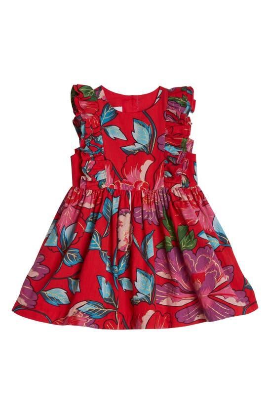 Pippa & Julie KIDS' TROPICAL RUFFLE DRESS