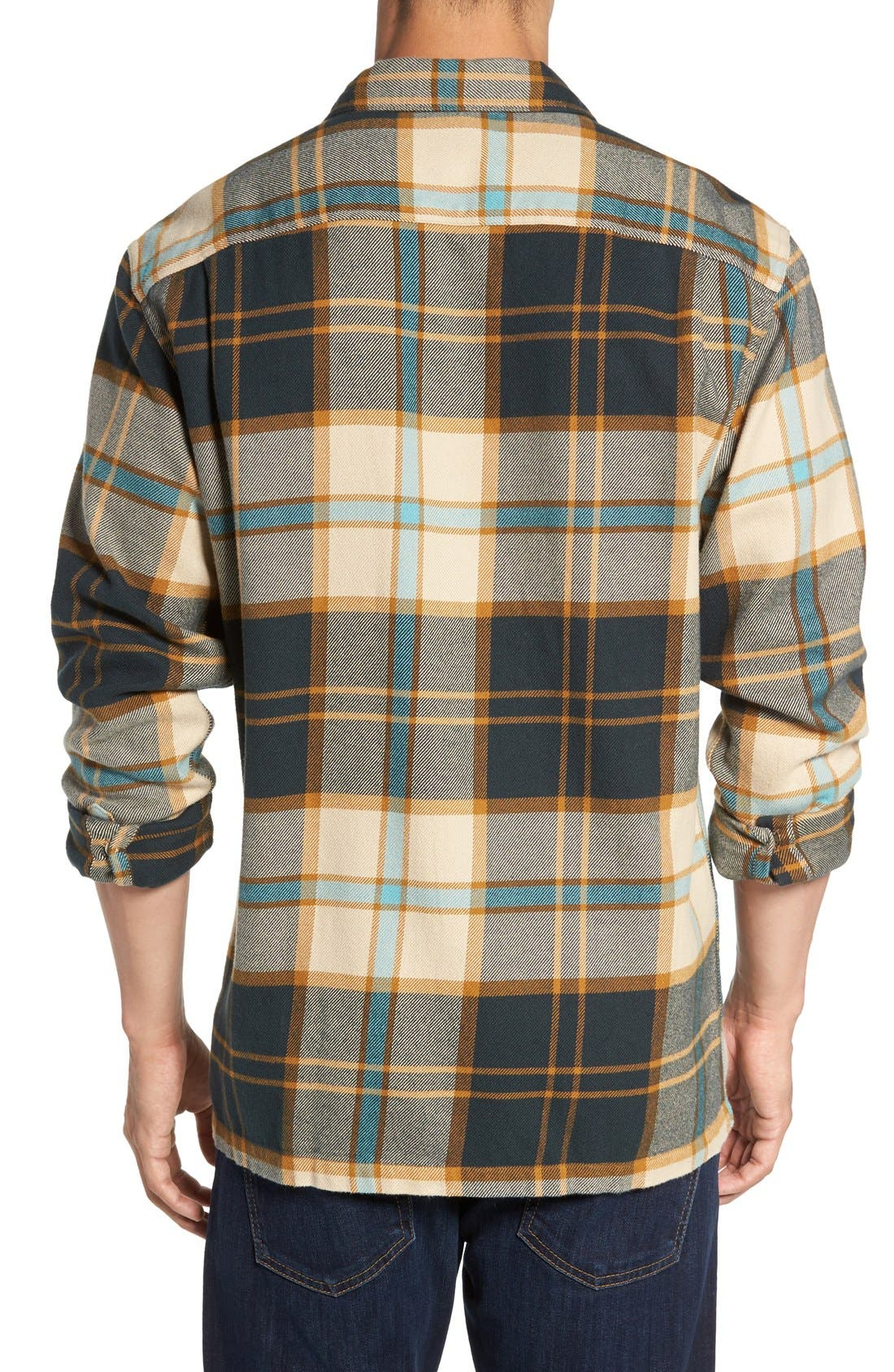 ,                             'Fjord' Regular Fit Organic Cotton Flannel Shirt,                             Alternate thumbnail 93, color,                             250