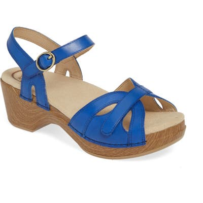 Dansko Season Sandal - Blue